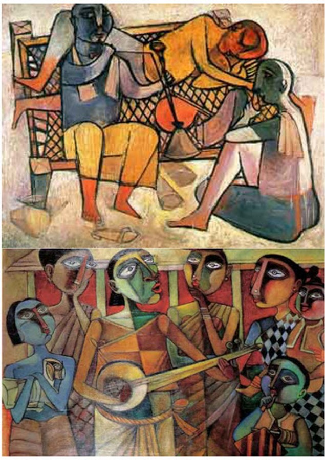 4 Art movements in the history of India - Sheet9