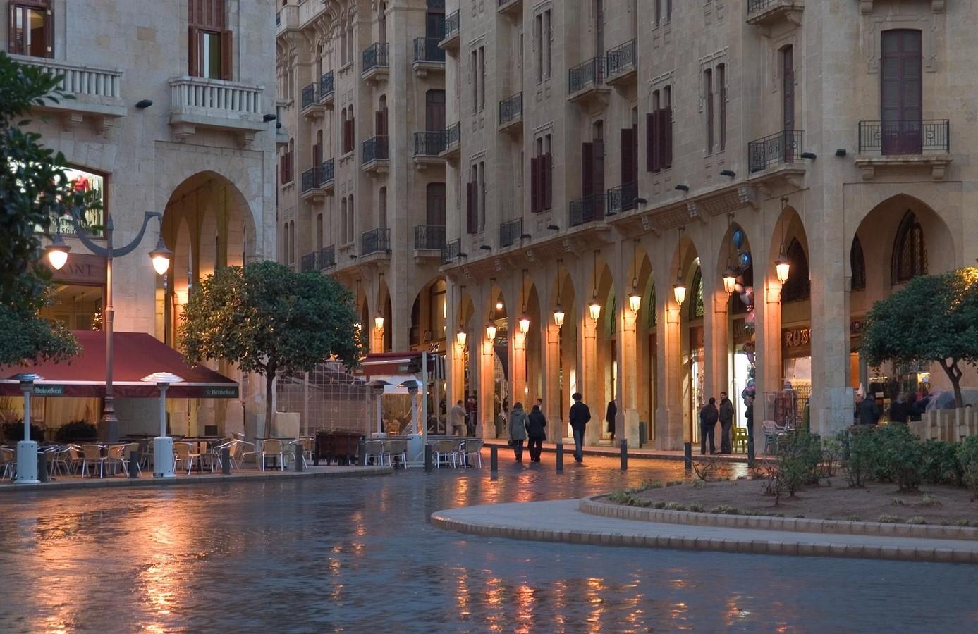 Downtown Beirut - sheet2