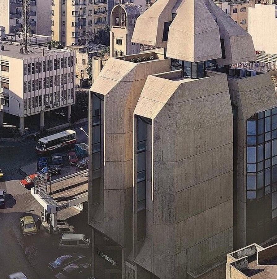 Interdesign building, Beirut - sheet3