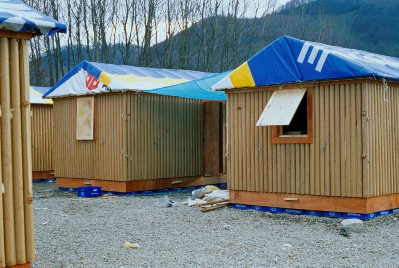 Paper Log Houses- Kobe, Japan - Sheet1
