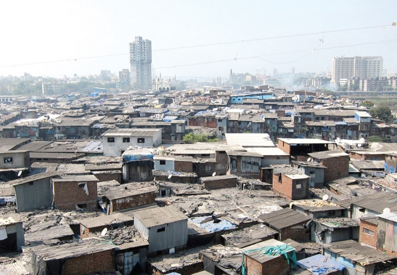 Contrast in the cityscape of Mumbai - Sheet4