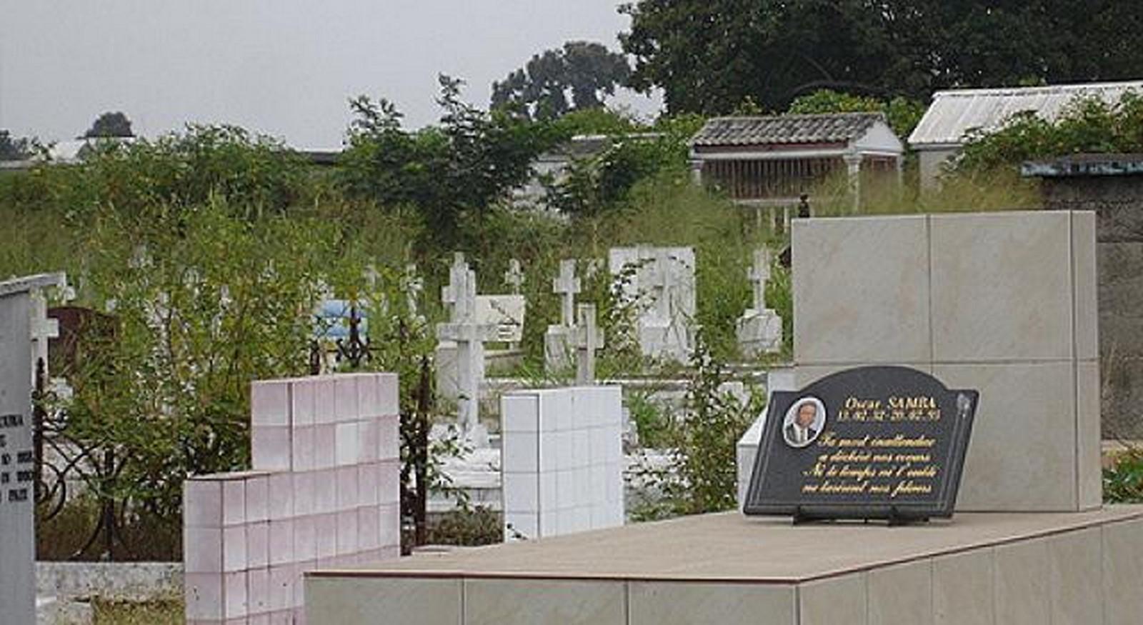 Cimetiere de la Gombe, Kinshasa - sheet1