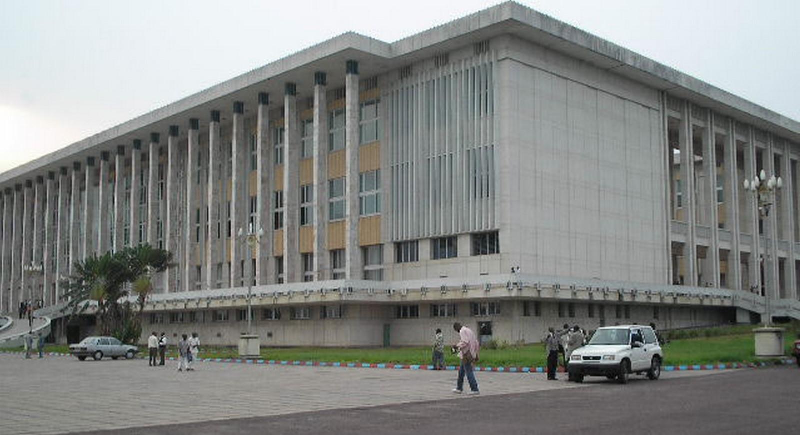 Palais du Peuple, Kinshasa - Sheet1
