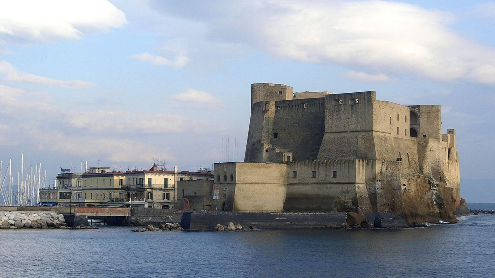 Castel dell' Ovo - sheet1