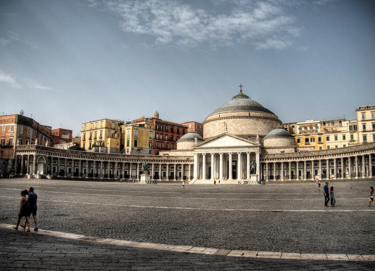 Piazza del Plebiscito, Naples- sheet1