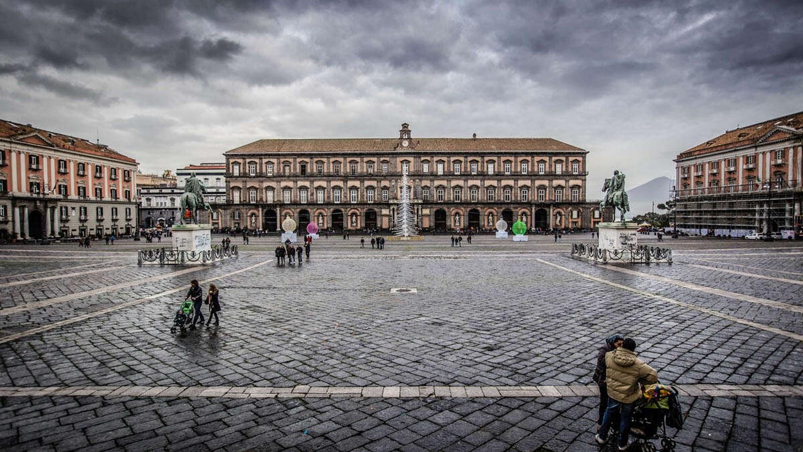 Piazza del Plebiscito, Naples- sheet3