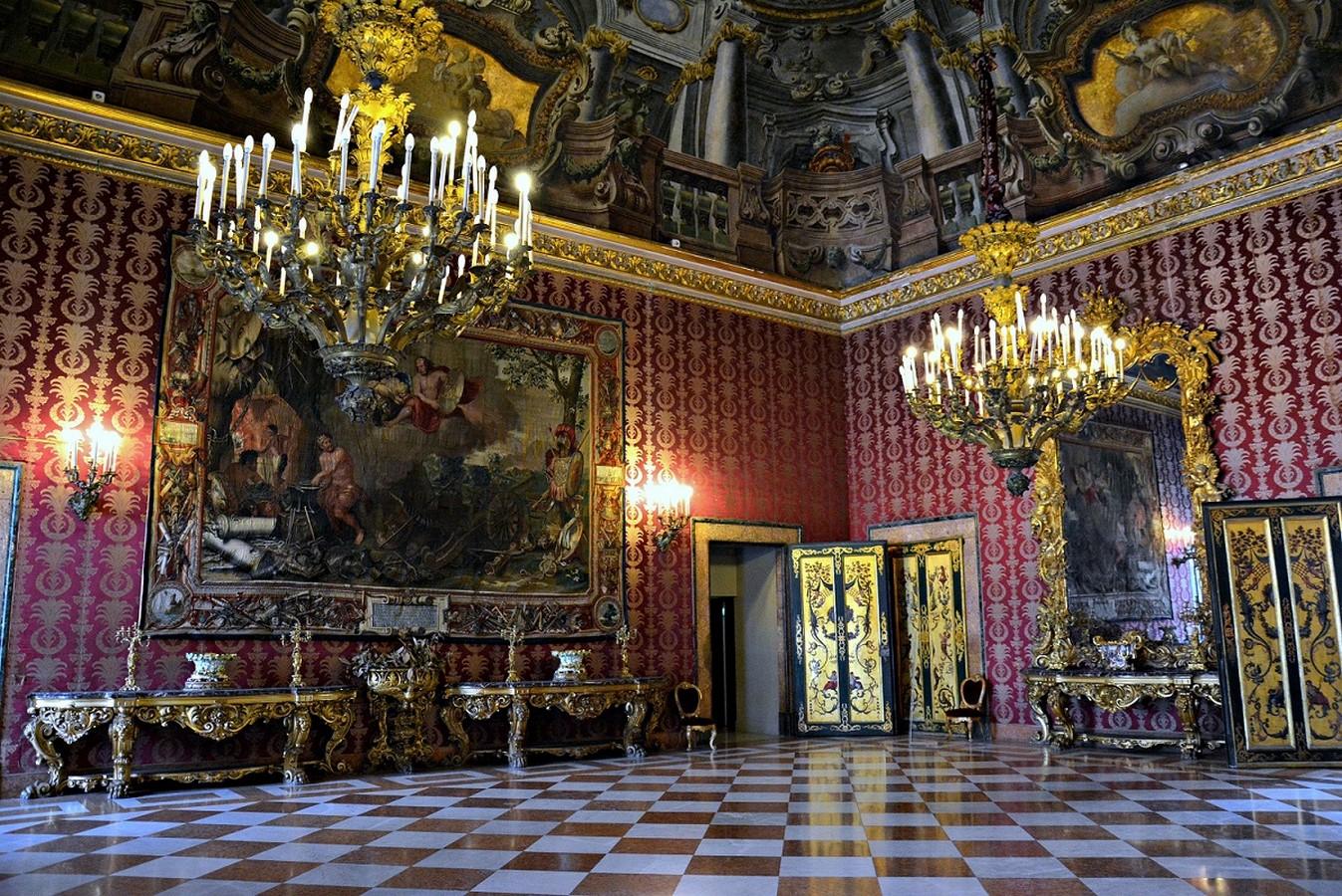 Royal Palace of Naples - sheet3
