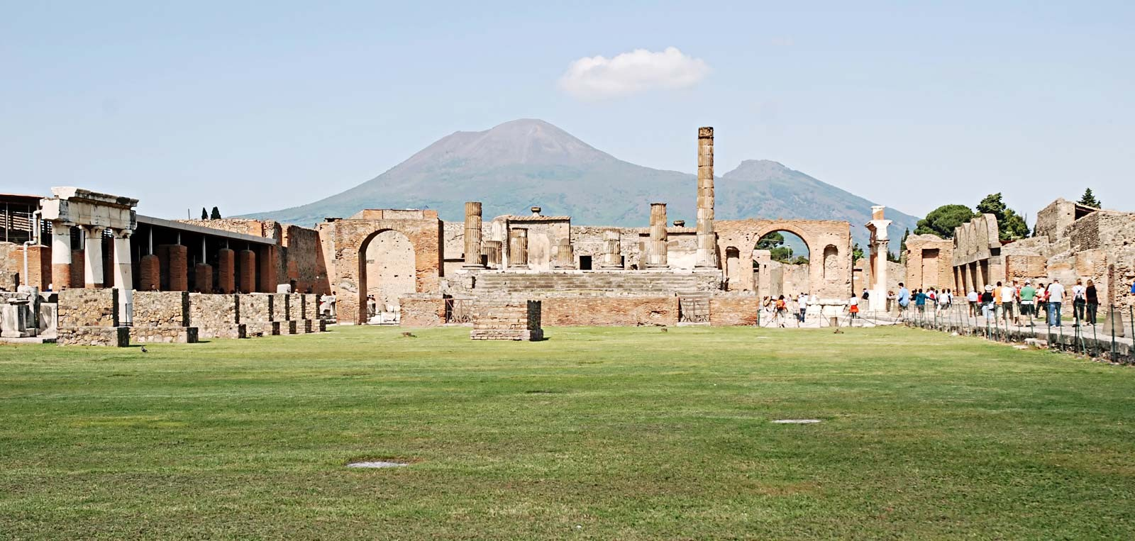 Ruins of Pompeii - sheet1