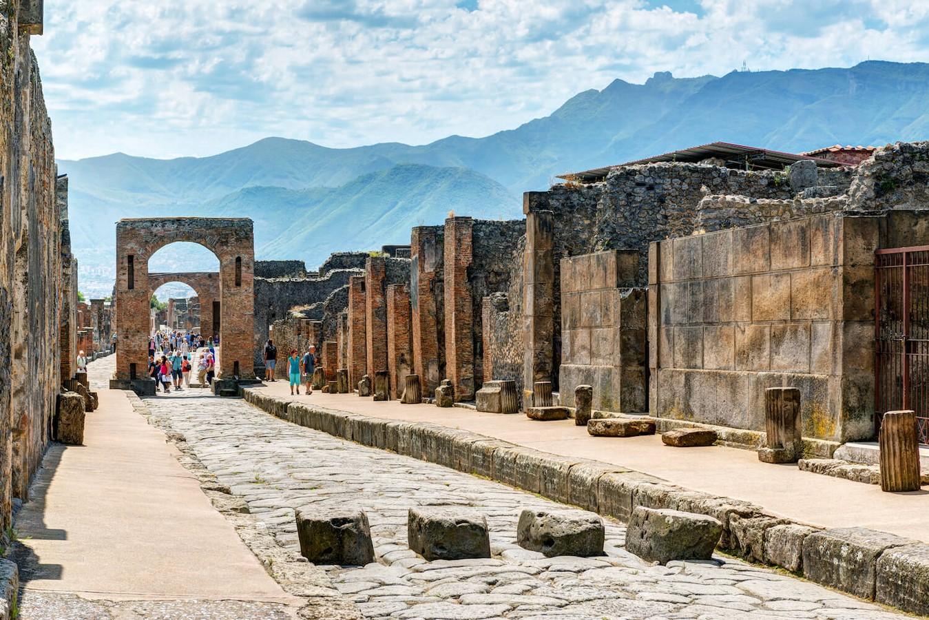 Ruins of Pompeii, Naples - sheet3
