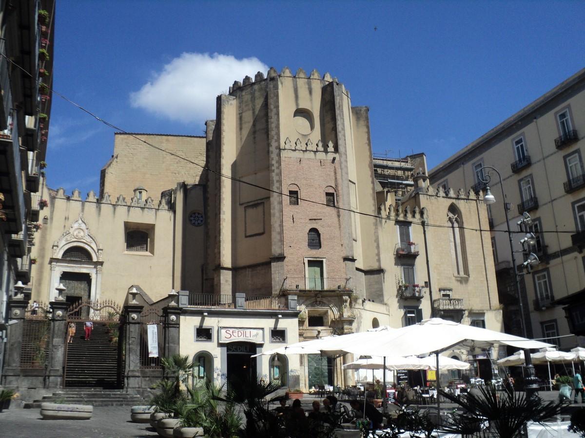 San Domenico Maggiore church - sheet1