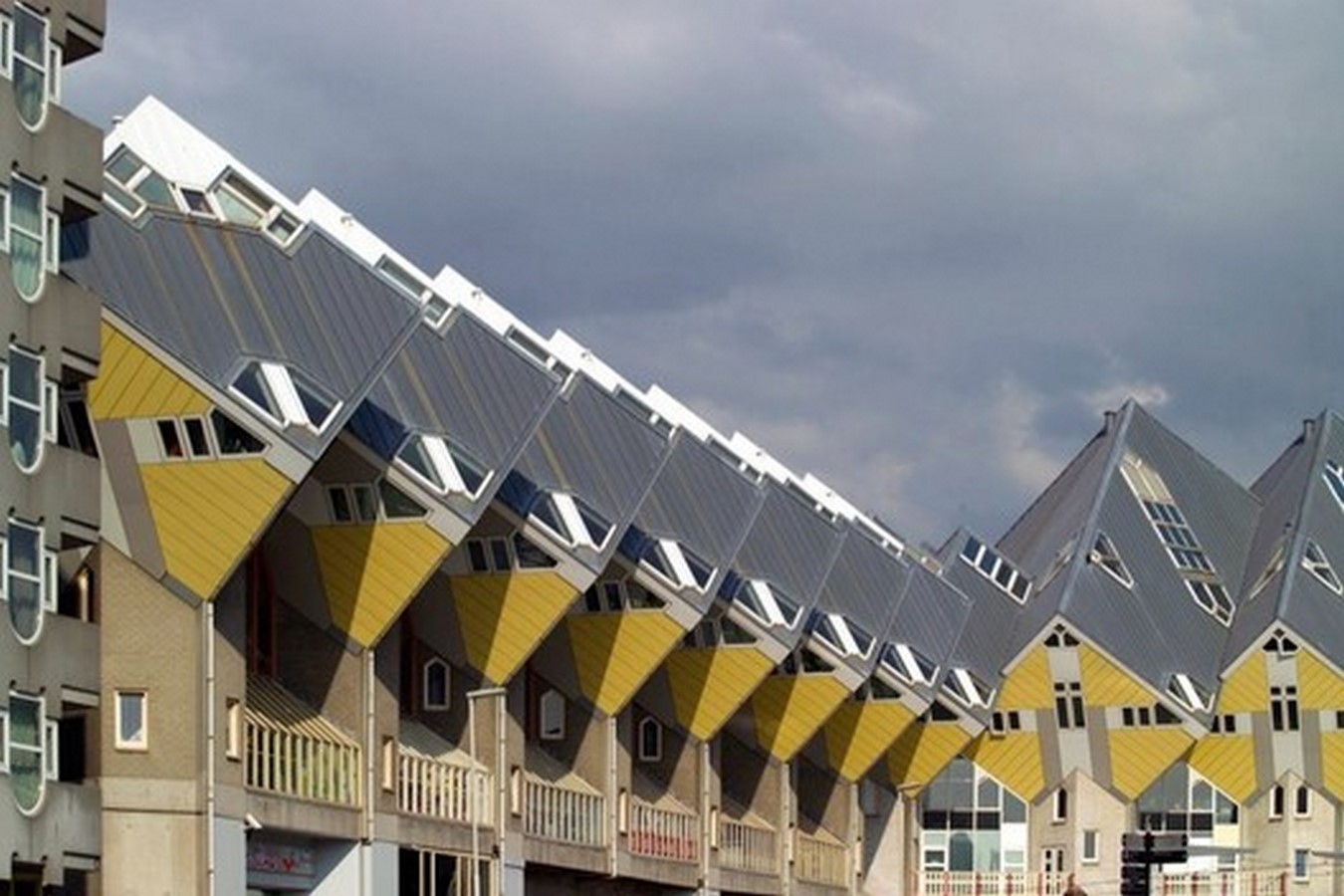 Cube Houses by Piet Blom - Sheet2