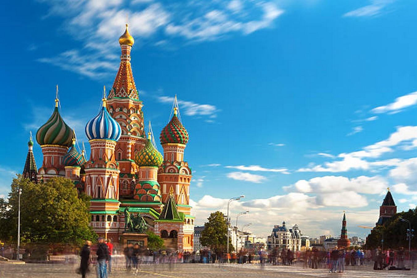 Basil's Cathedral by Pestnik Yakolev and Ivan Barma - Sheet1