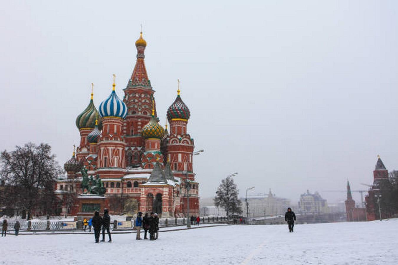 Basil's Cathedral by Pestnik Yakolev and Ivan Barma - Sheet3