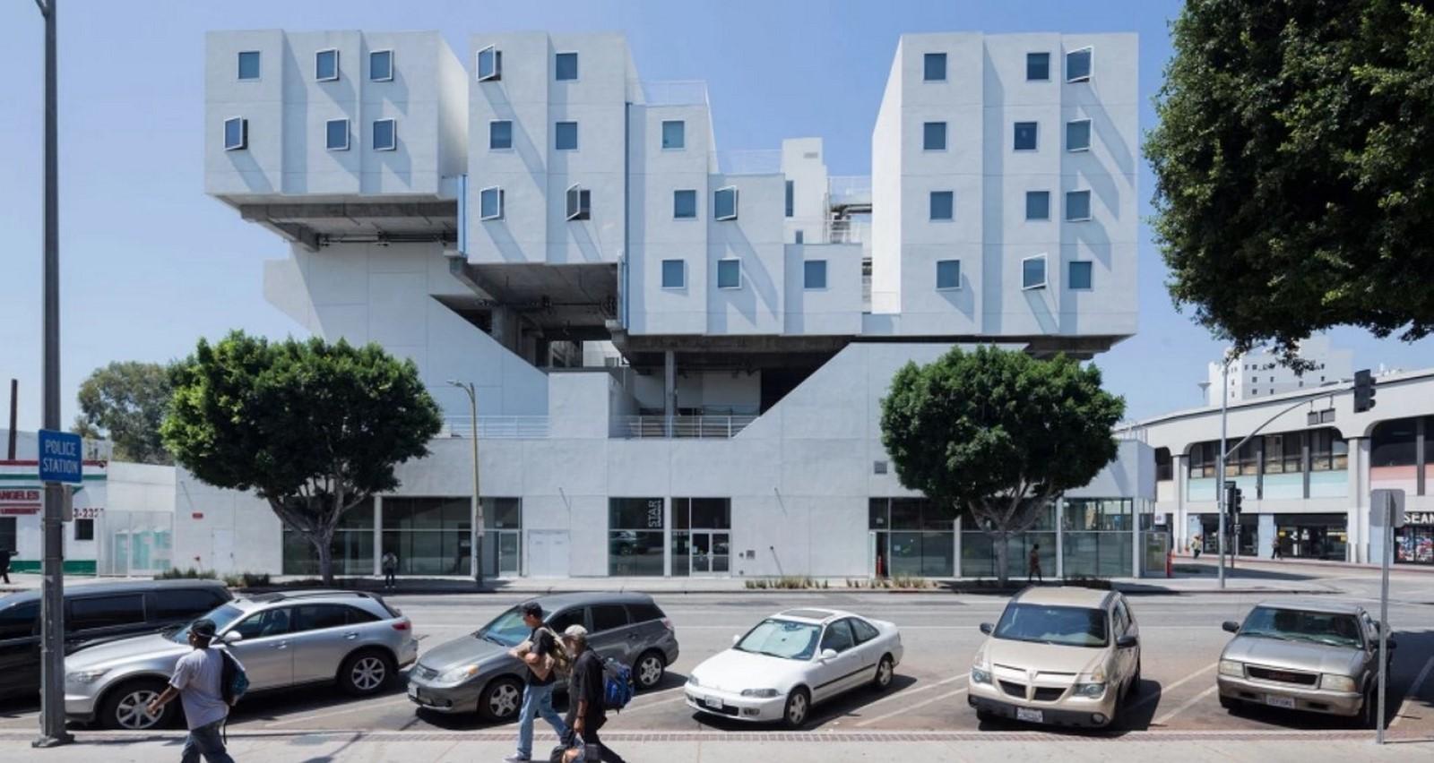 Star Apartments by Michael Maltzan - Sheet1