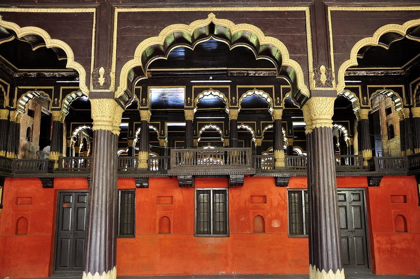 Places to visit in Bangalore for the Travelling Architect -Tipu Sultan's summer palace- Sheet1