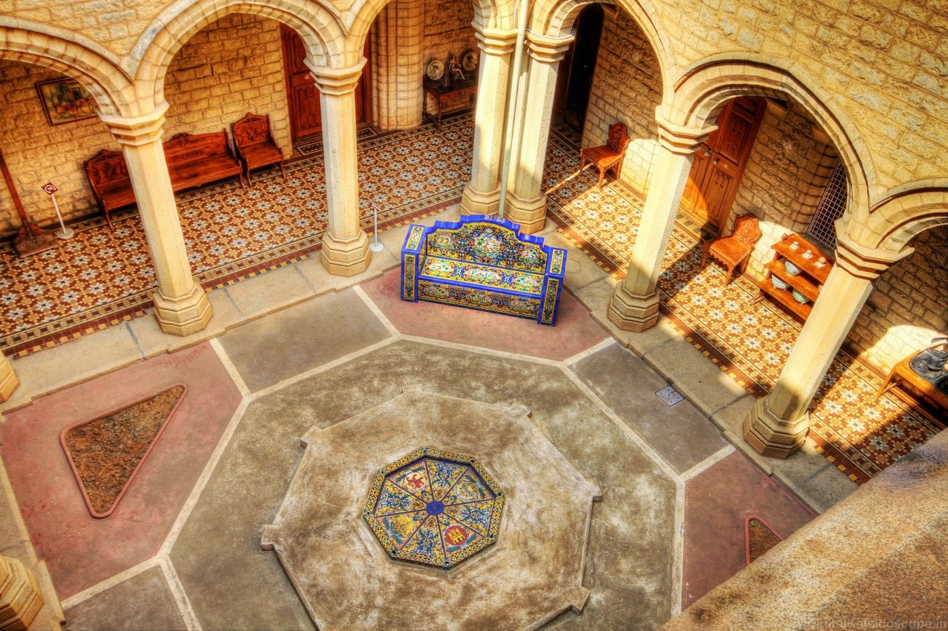 Places to visit in Bangalore for the Travelling Architect -Bangalore Palace - Sheet3