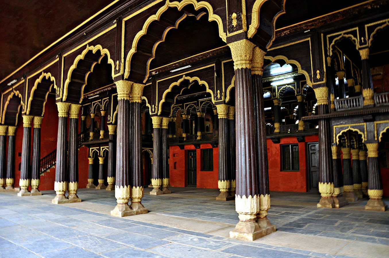 Places to visit in Bangalore for the Travelling Architect -Tipu Sultan's summer palace- Sheet2