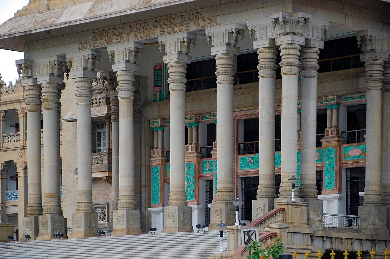 Places to visit in Bangalore for the Travelling Architect -Vidhanasoudha - Sheet3