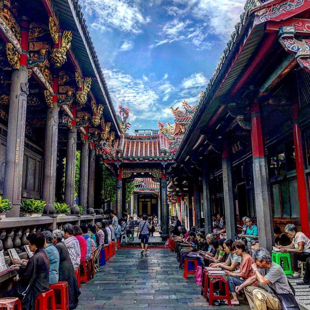 Longshan Temple - sheet3