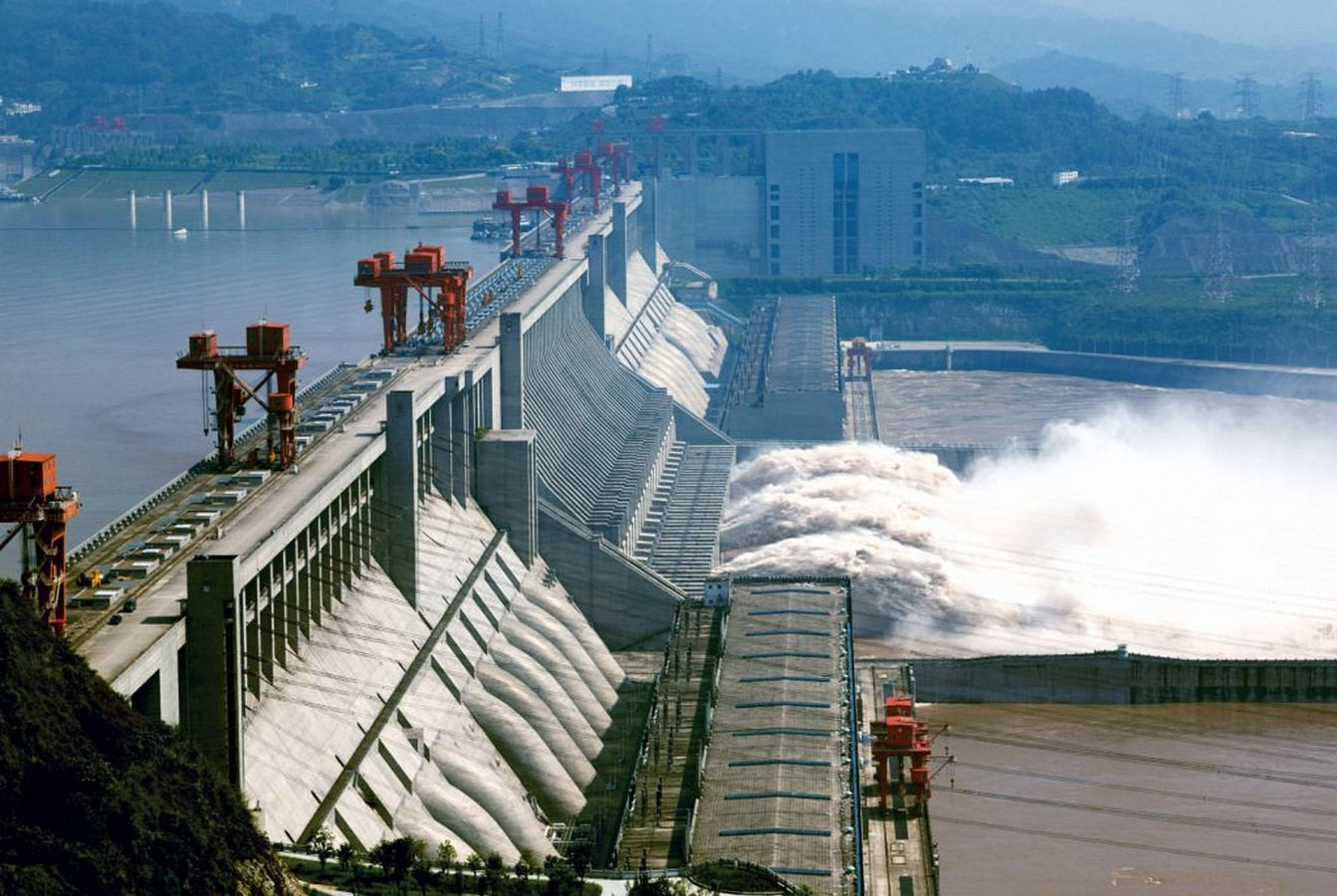 Three Gorges Dam by Pan Jiazheng- The world's Largest hydroelectric dam - Sheet1