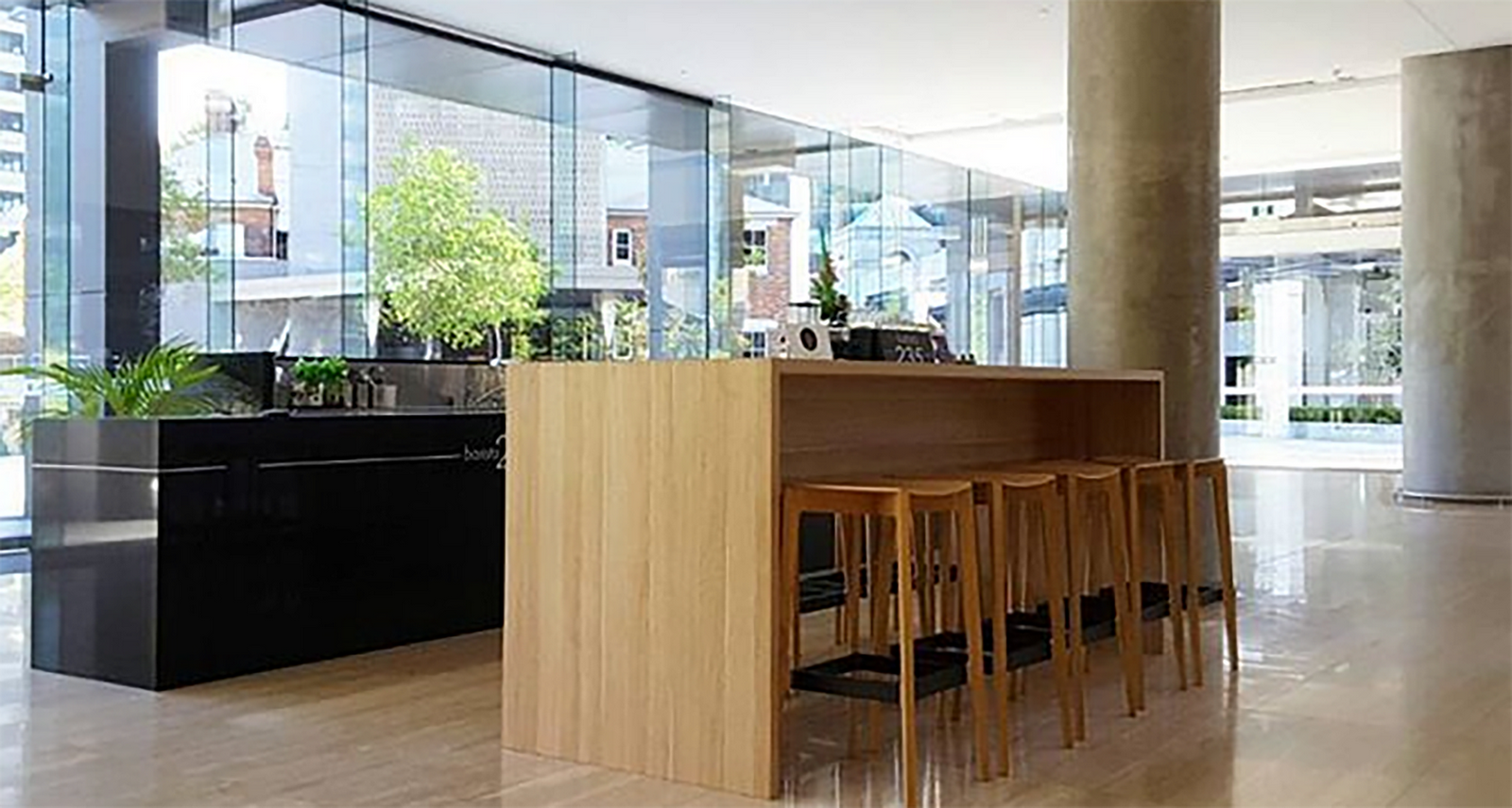 Hawaiian ground floor lobby and cafe refurbishment - Sheet1
