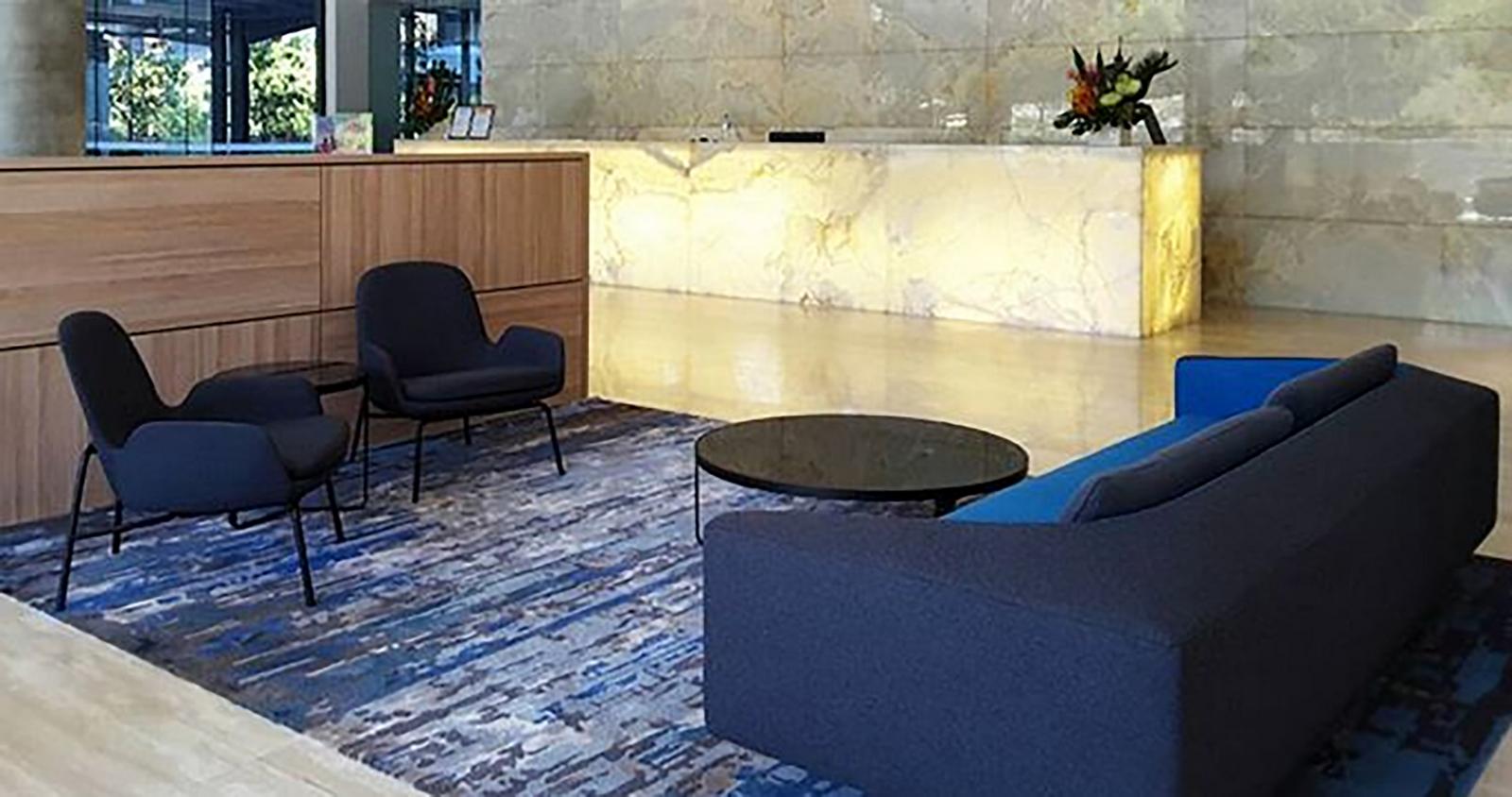Hawaiian ground floor lobby and cafe refurbishment - Sheet2