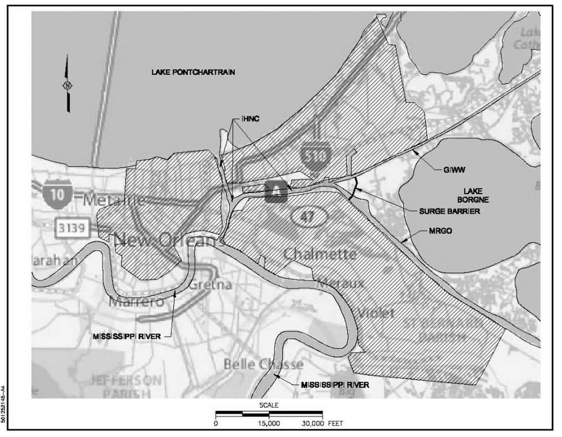 IHNC Lake Borgne Surge Barrier- The Great Wall of New Orleans - Sheet1