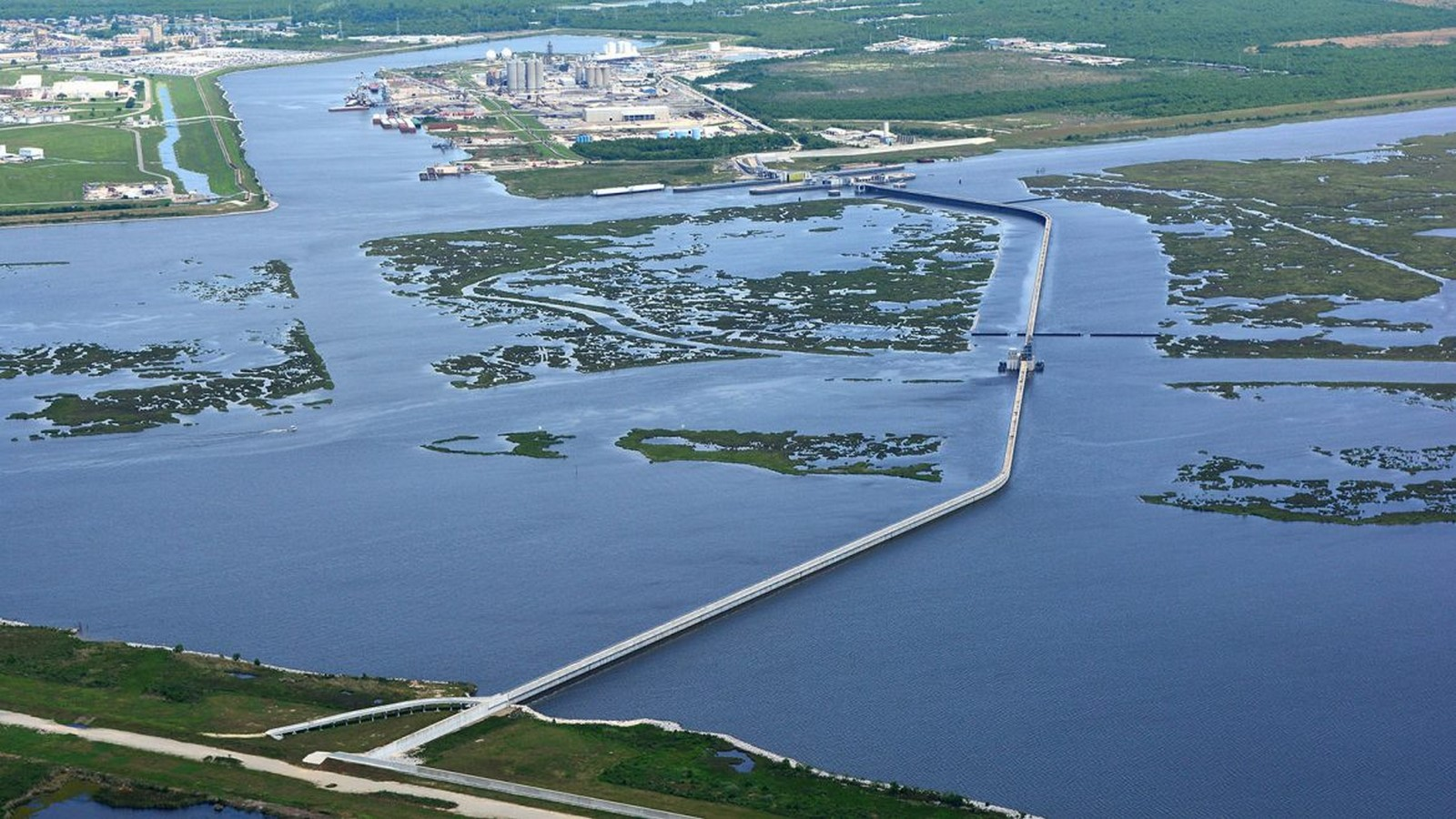 IHNC Lake Borgne Surge Barrier- The Great Wall of New Orleans - Sheet2