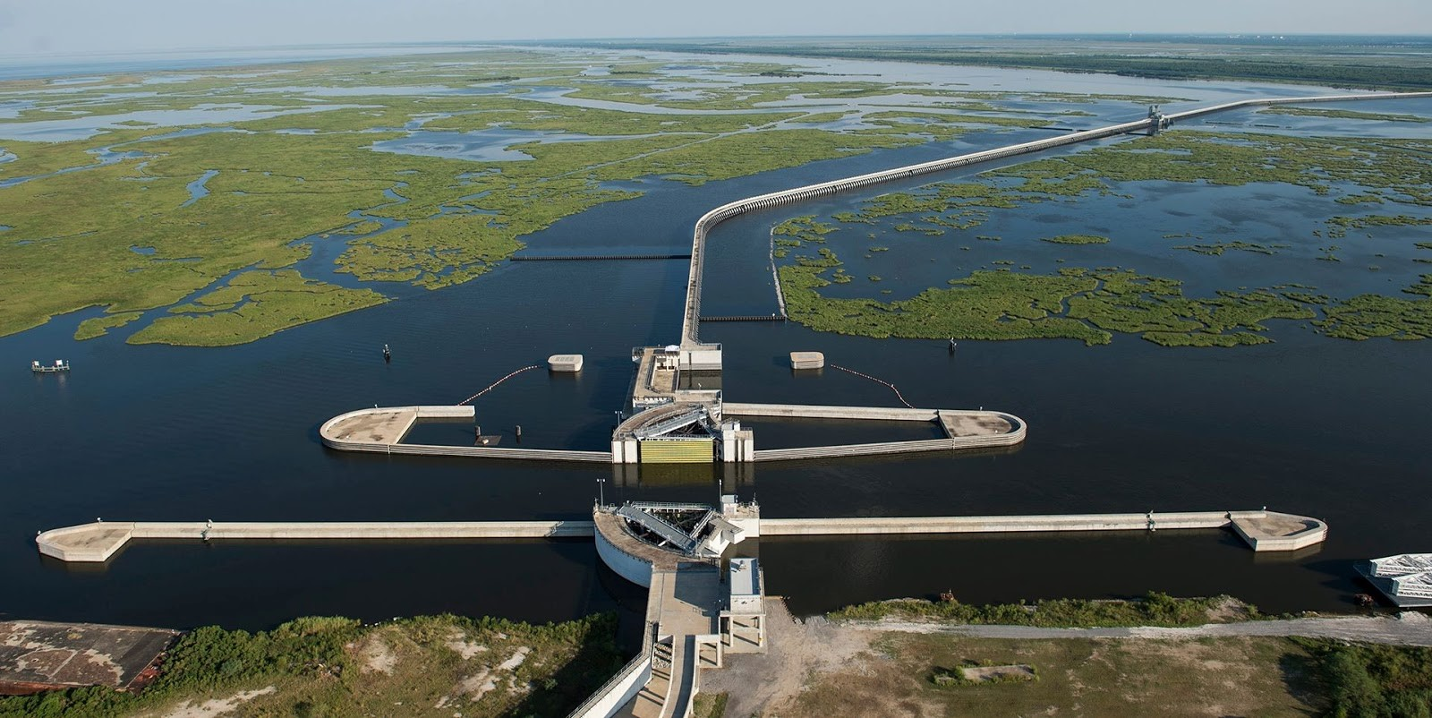 IHNC Lake Borgne Surge Barrier- The Great Wall of New Orleans - Sheet3