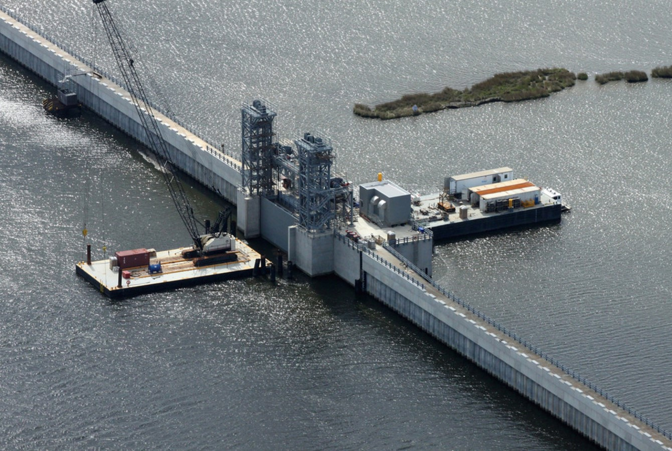 IHNC Lake Borgne Surge Barrier- The Great Wall of New Orleans - Sheet5
