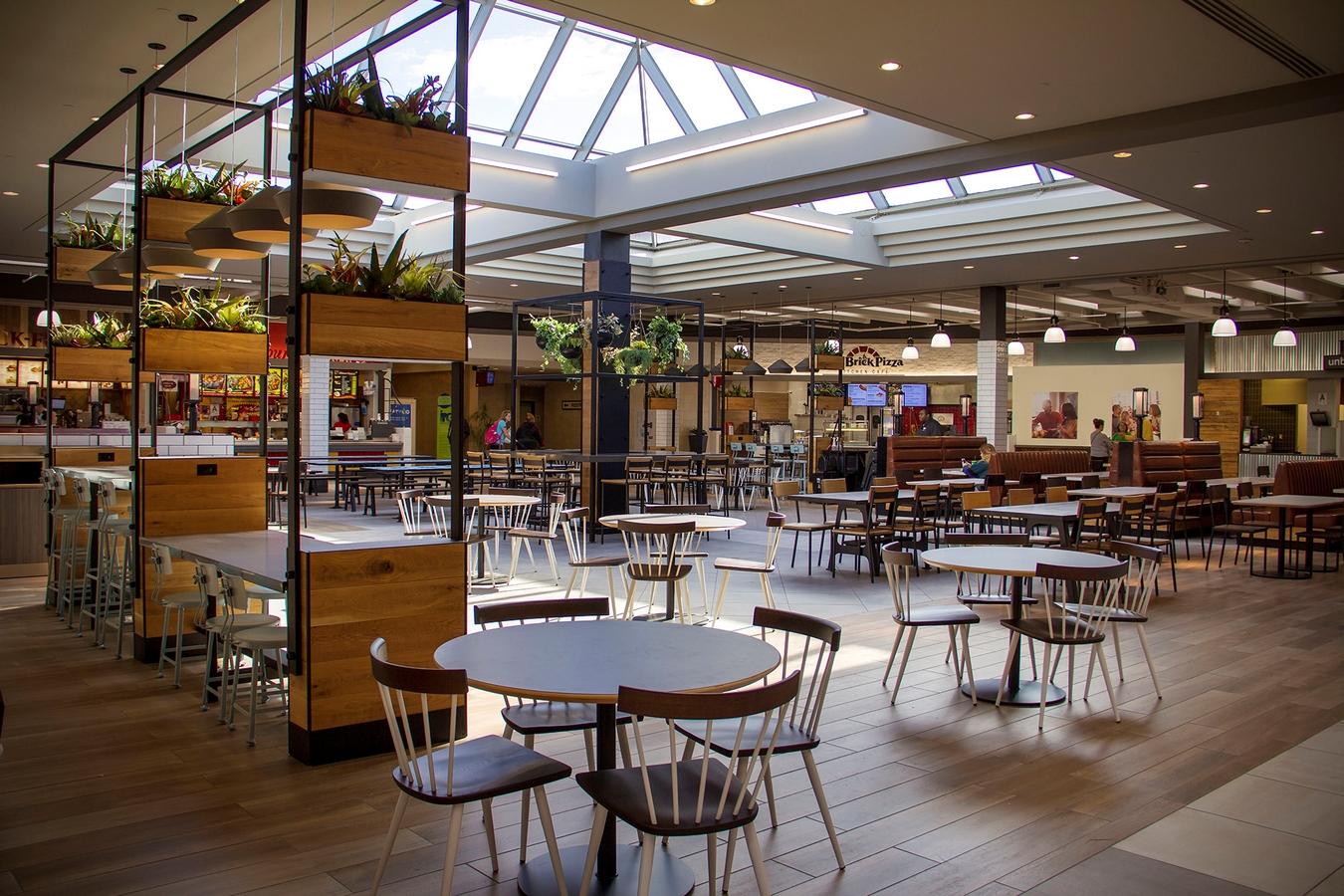 The food court at Mall St. Matthews - sheet3