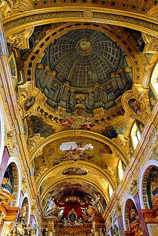 10 Famous architects who were/are great painters- Andrea Pozzo - Sheet3