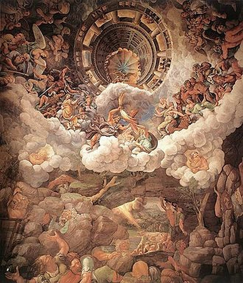 10 Famous architects who were/are great painters- Giulio Romano - Sheet2