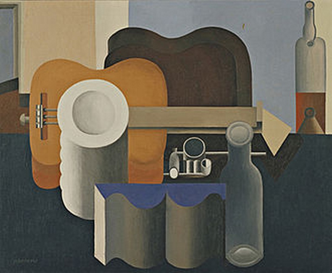 10 Famous architects who were/are great painters- Le Corbusier - Sheet2