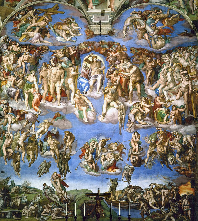 10 Famous architects who were/are great painters- Michelangelo - Sheet3