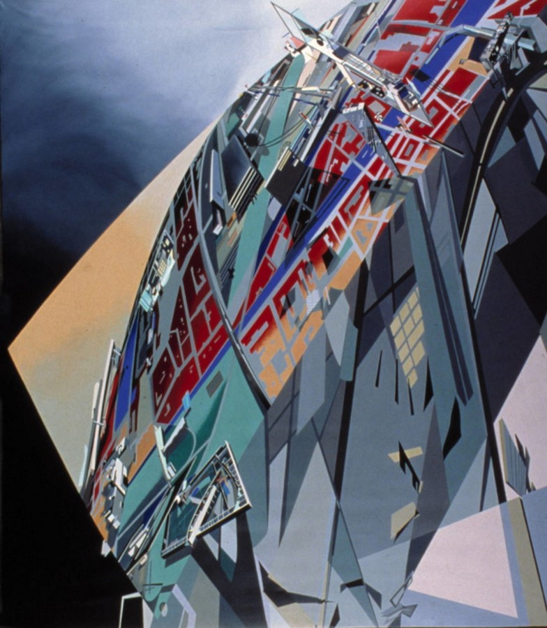 10 Famous architects who were/are great painters -Zaha Hadid - Sheet2