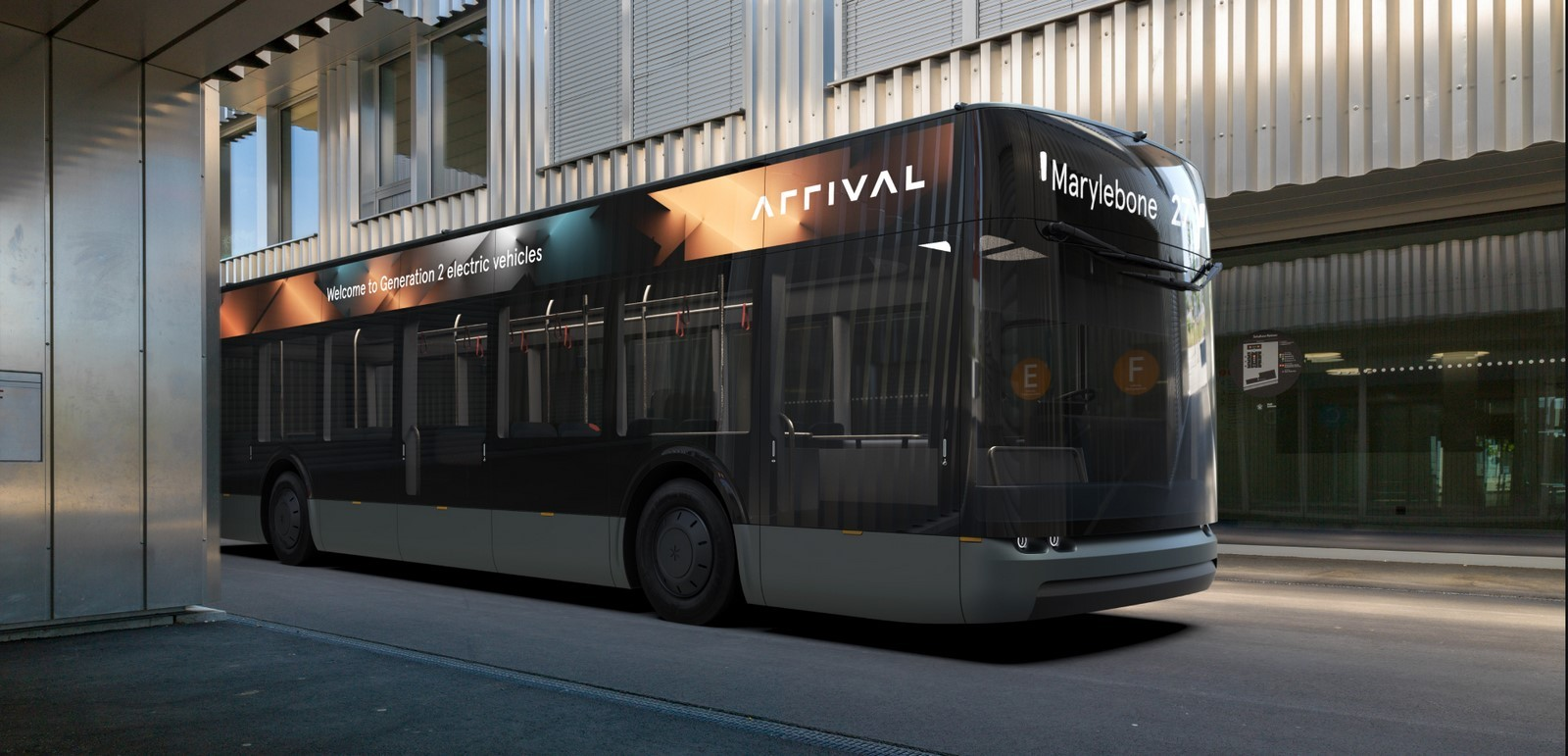 Arrival launches electric bus with features to help people travel safely following pandemic - Sheet1