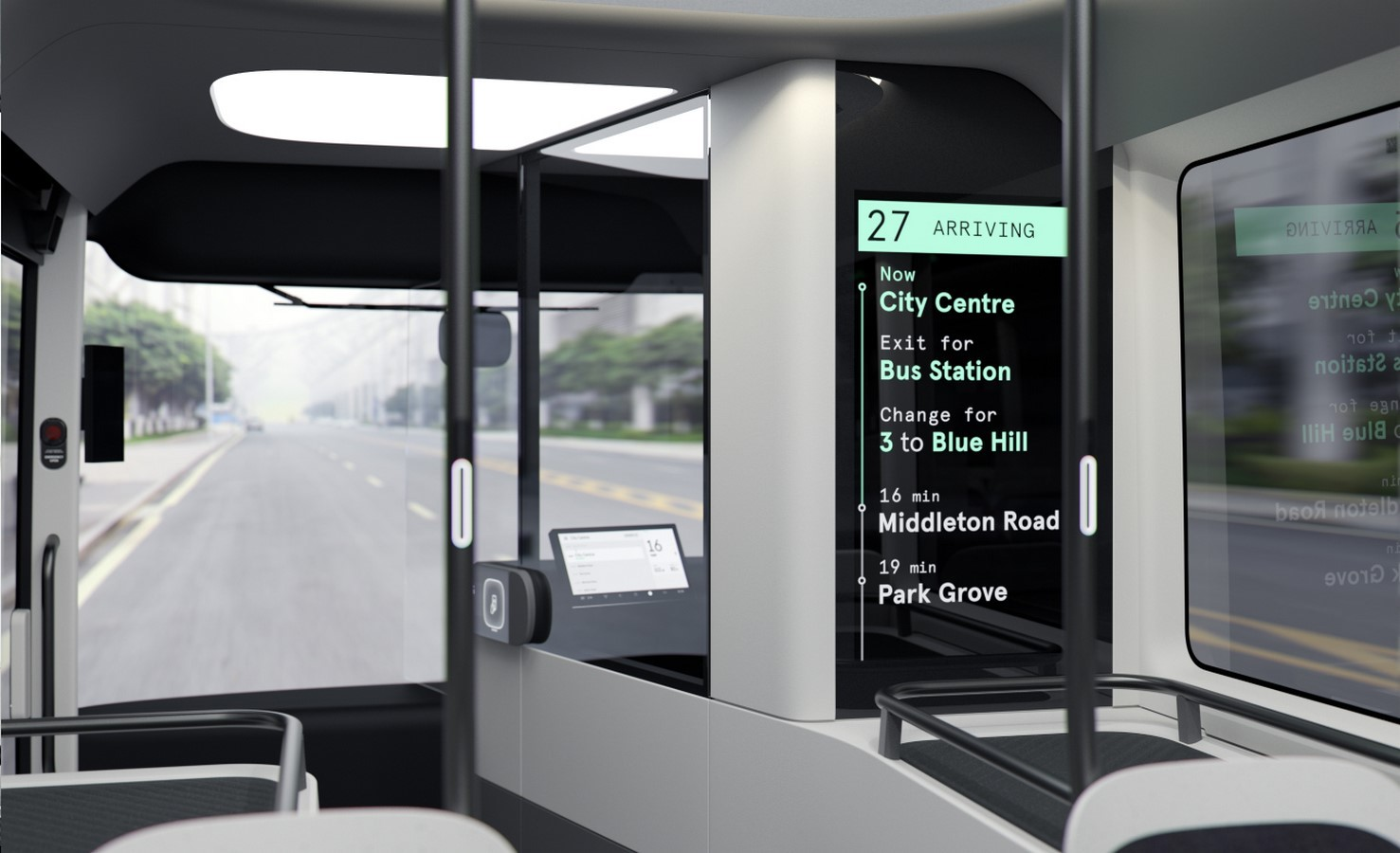 Arrival launches electric bus with features to help people travel safely following pandemic - Sheet2