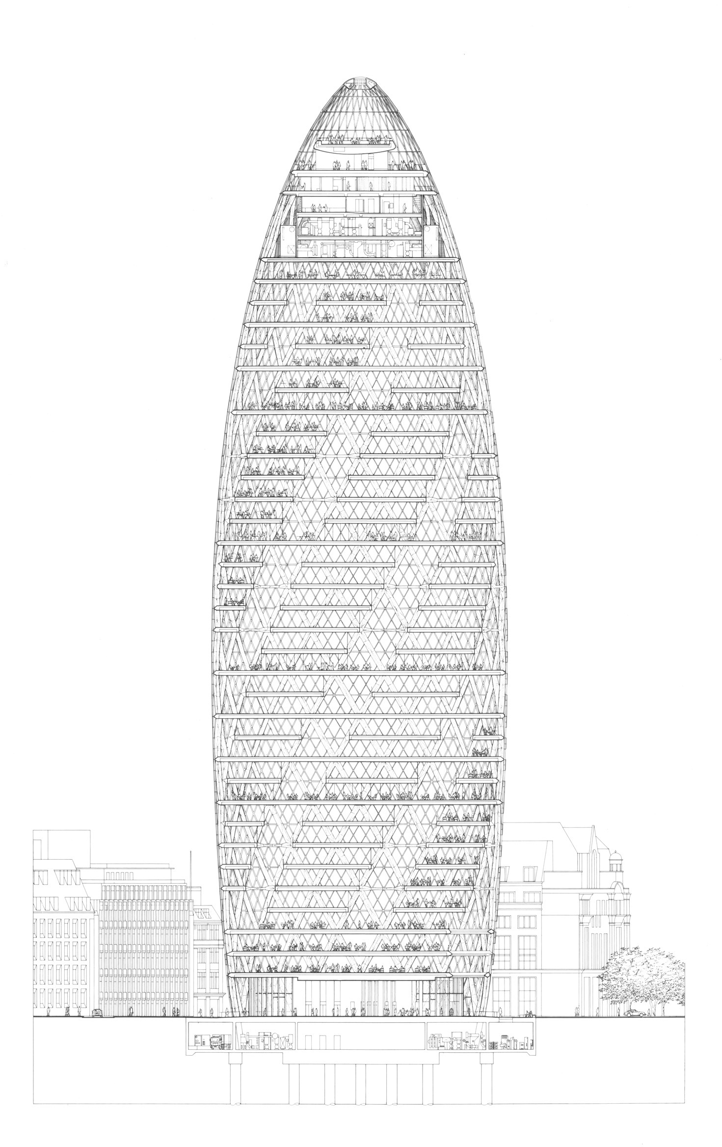 Norman Foster- 30 St.Mary Axe- Sheet2