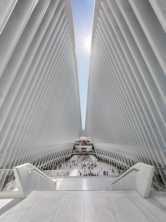 Santiago Calatrava- Oculus - Sheet3