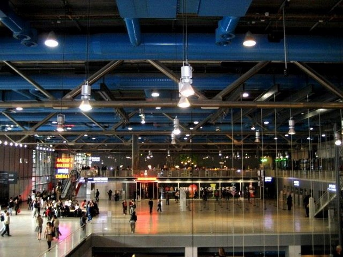 Renzo Piano- Pompidou Centre - Sheet2