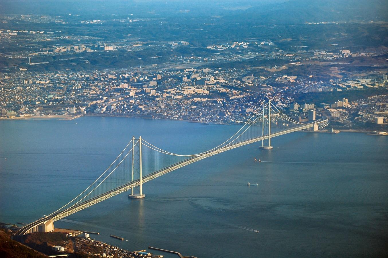 Akashi Kaikyo Bridge, Japan by Satoshi Kashima- The Longest Suspension Bridge in the World - Sheet11