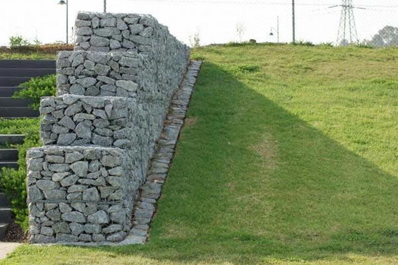 Gabion wall as a building technique - Sheet1