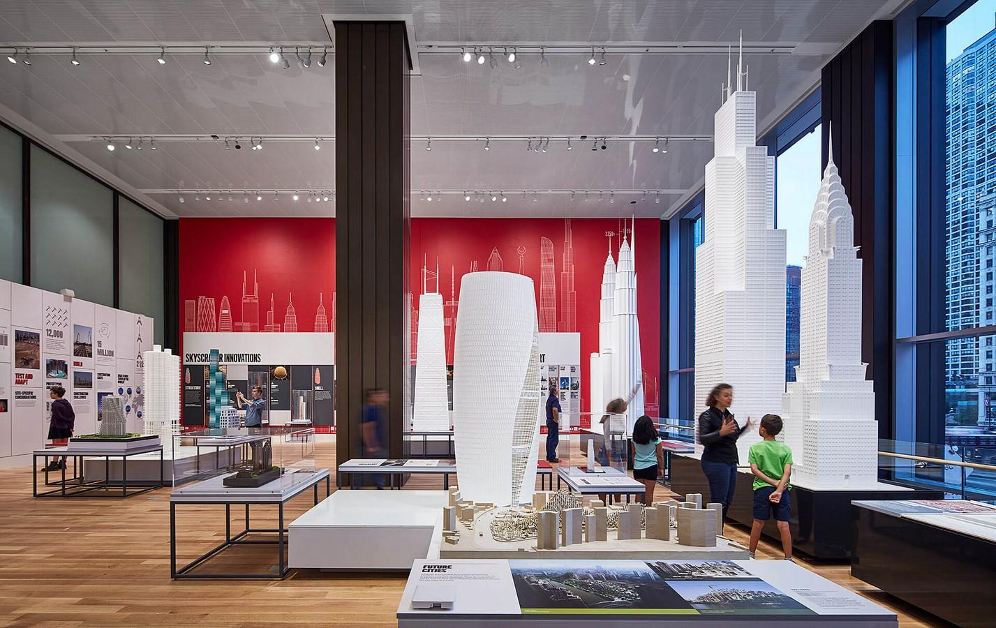 Chicago Architecture Center, Chicago, Illinois - Sheet1