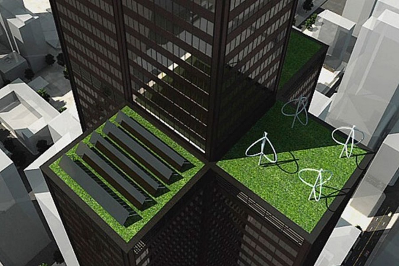 Willis Tower Greening Project + Hotel, Chicago, Illinois - Sheet3