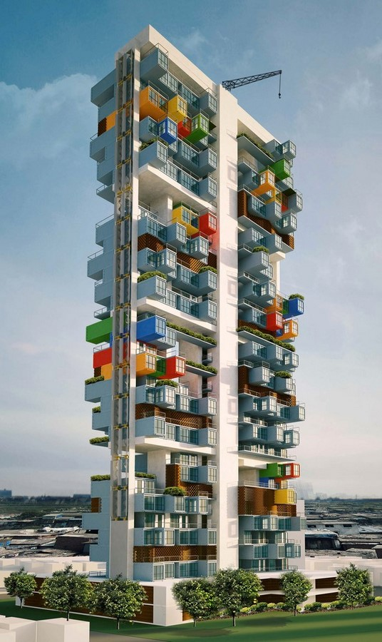 Shipping Container Skyscraper - Sheet1
