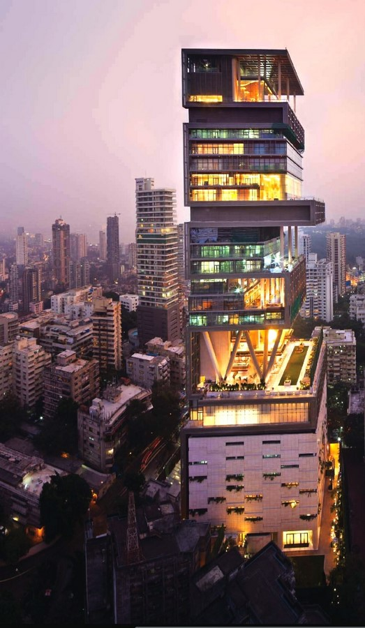 Antilla Residential Tower Mumbai by Perkins + Will/Hirsch Bedner Associates- The Most Expensive Home - Sheet1