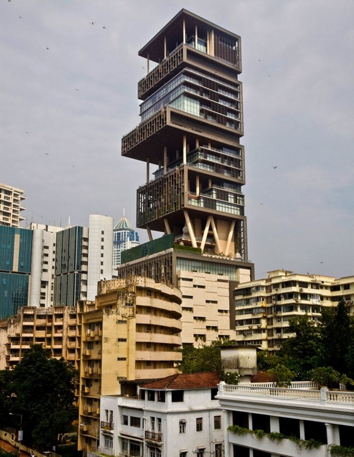 Antilla Residential Tower Mumbai by Perkins + Will/Hirsch Bedner Associates- The Most Expensive Home - Sheet2