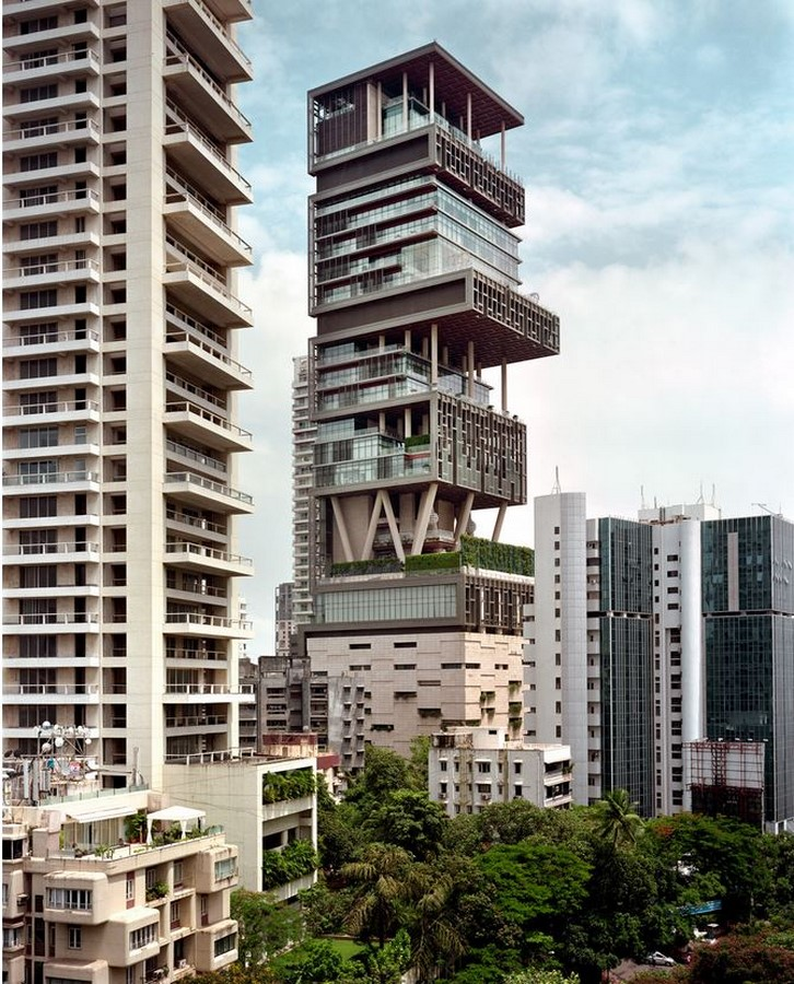 Antilla Residential Tower Mumbai by Perkins + Will/Hirsch Bedner Associates- The Most Expensive Home - Sheet4