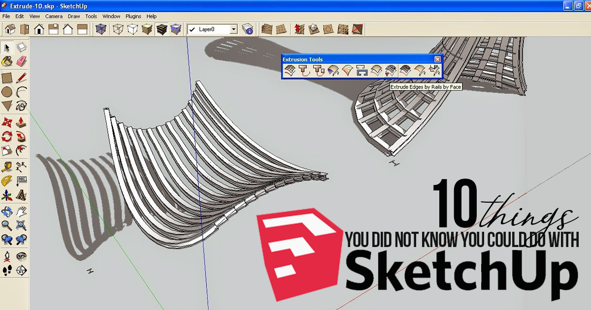 10 Things You Did Not Know You Could Do With Sketchup Rtf Rethinking The Future